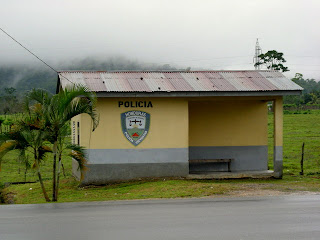Police station, Honduras