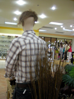 badly coiffed mannequin, La Ceiba, Honduras