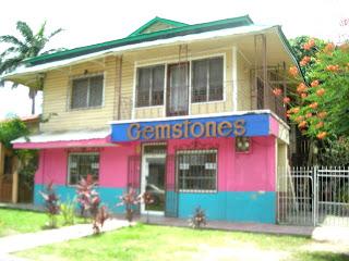 Gemstones storefront, La Ceiba, Honduras