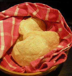 La Gringa's homemade rolls, La Ceiba, Honduras