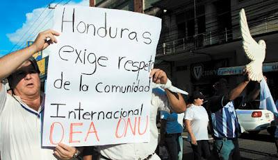 Honduran anti-Zelaya protesters