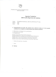 US Ambassador Hugo Llorens memo to Honduras Supreme Court justices page 2