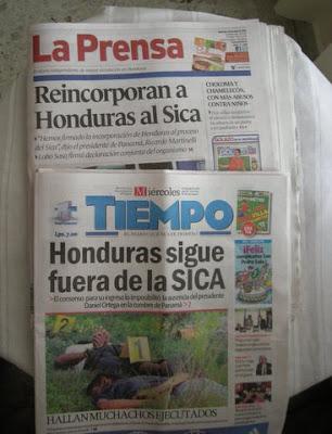 La Prensa,El Tiempo - Honduras