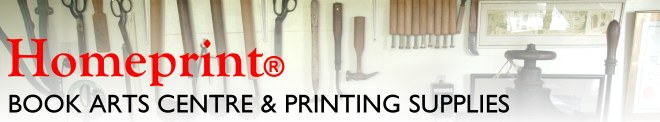 Homeprint: Book Arts Centre & Printmaking Supplies