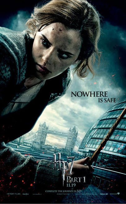 harry potter 7 poster. poster of Harry Potter and