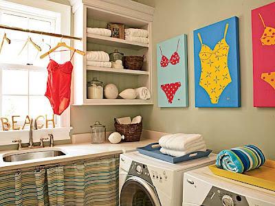 laundry room | Our Corner House