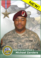 Wednesday Hero: Chief Warrant Officer Michael Zanders (front pic)