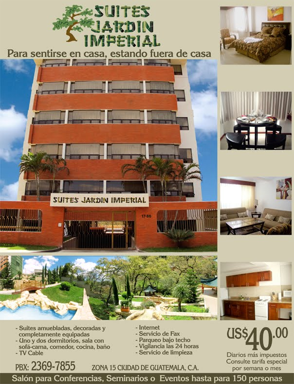 Suites jardin imperial for Jardin imperial