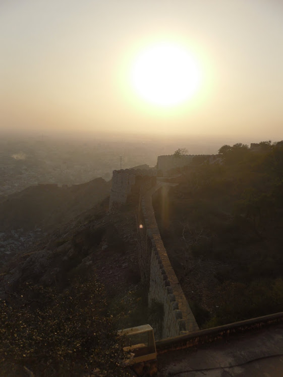 Jaipur at Sunset