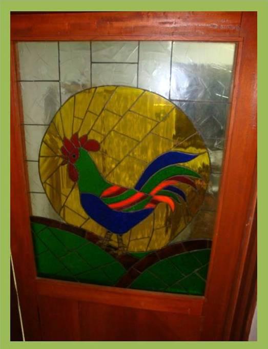 Aleli arte maderas y vitrales puertas en madera y vitral for Puertas de madera para cocina con vidrio