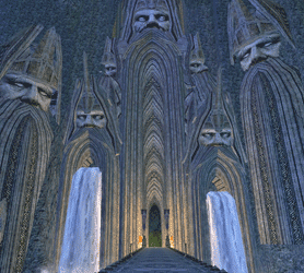 LOTRO The Dwarf-lords Gate in The Great Delving