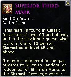 LOTRO Superior Third Mark