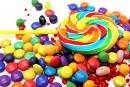 dulces de colores