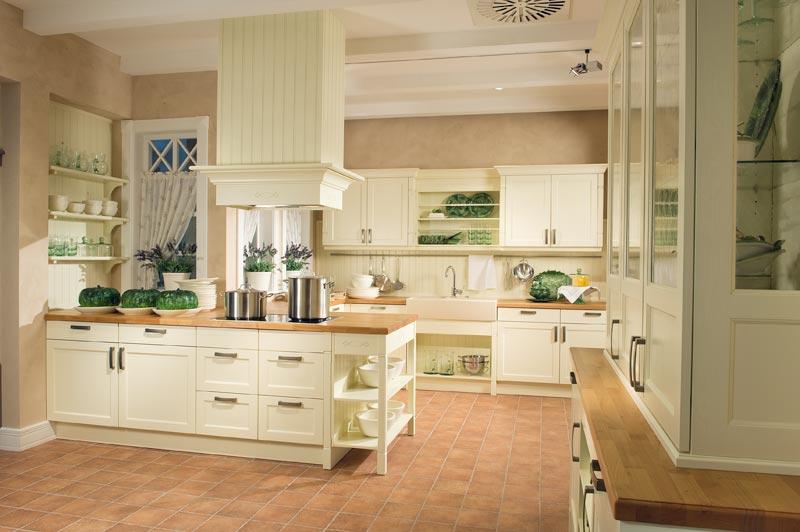 Decohogar cocinas - Cocinas rusticas blancas ...