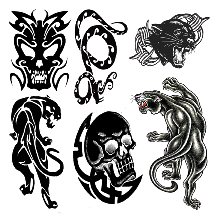 Tatto art tato temporary for Temporary tattoo tracing paper
