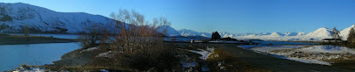 My New Zealand Vacation, Lake Tekapo, Church of the Good Shepherd, Pano224