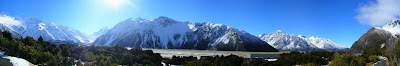 My New Zealand Vacation, Aoraki, Mount Cook, National Park, Pano208