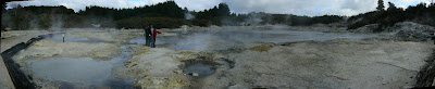My New Zealand Vacation, Rotorua, Hell's Gate, Pano58