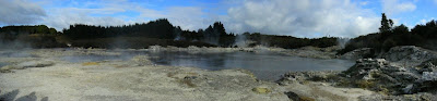 My New Zealand Vacation, Rotorua, Hell's Gate, Pano57