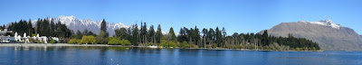 My New Zealand Vacation, Queenstown, Lake Wakatipu, Pano49
