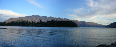My New Zealand Vacation, Queenstown, The Remarkables, Pano71