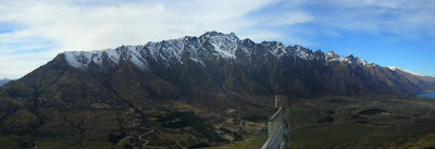 My New Zealand Vacation, Queenstown, The Remarkables, Pano140
