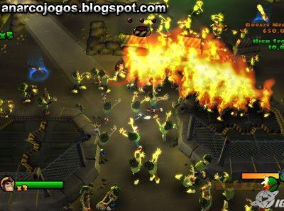 Burn Zombie Burn! - Pc Game Full