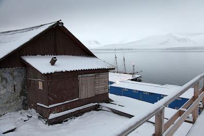Noorderlicht at Barentsburg