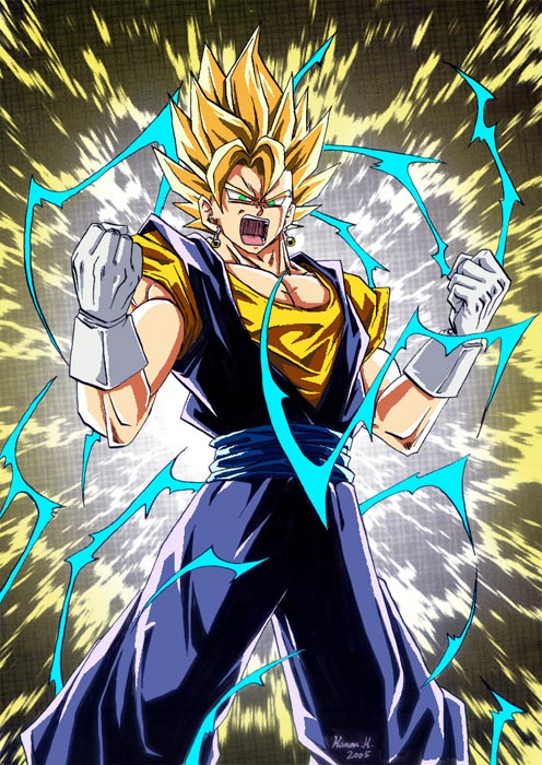 Super Saiyan Goku, Super Saiyan Bezita, Super Saiyan Gohan