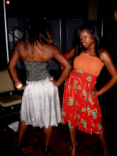 African rebirth backstage shots