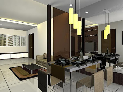 Living Room Interior Design, Home Interior Design - Interio Design Pictures