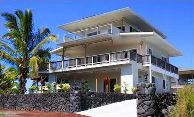 home ocean view exterior