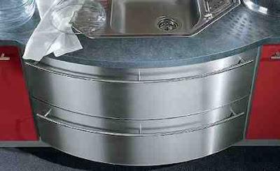 culinablu kitchen round cabinet front