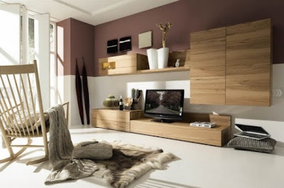 Living Room Designs and Ideas for 2010 by Hülsta l Minimalist Wood Furniture