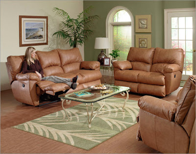 Catnapper Charger Three Piece Reclining Living Room Set