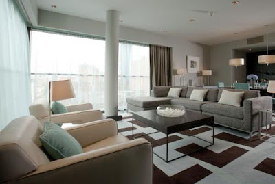 fitzwilliam hotel living space design