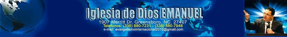 Iglesia de Dios Emanuel de Greensboro Carolina del Norte