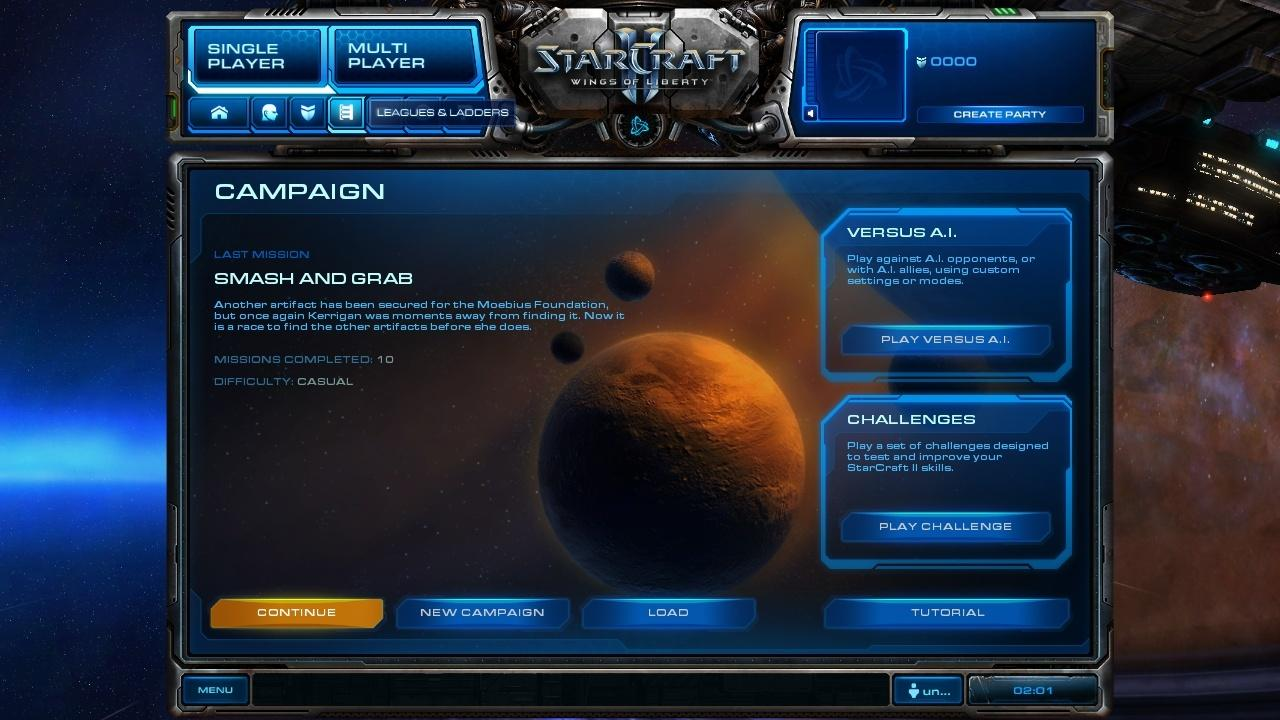 how to get offline in starcarft 2