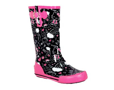 Limited Edition Hello Kitty Cute! Rainboot by Chooka.