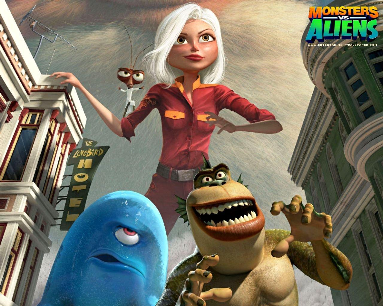 Praveen CEG: Monsters vs Aliens
