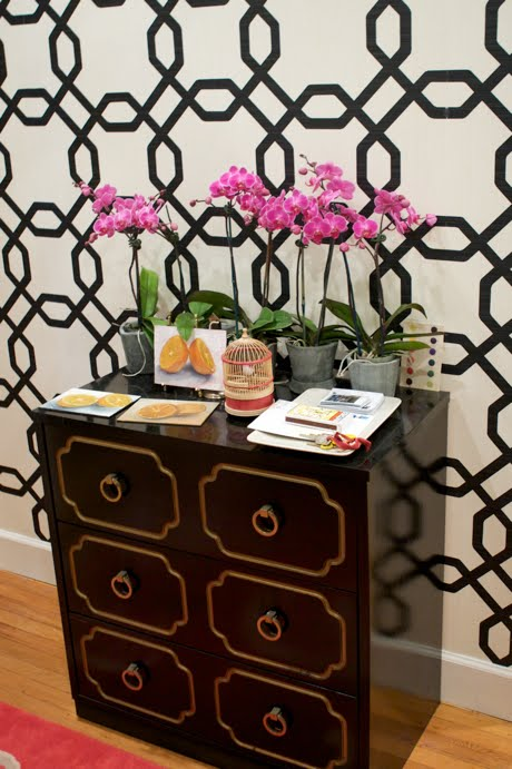 ... EasyChange wallpaper from Sherwin Williams it is ideal for renters because it comes right off. Their website navigation is terrible but if you want to ...
