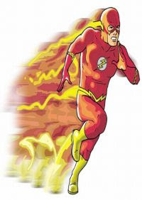Flash: terceirão na disputa - rápido sim, mas sem graça pra burro!