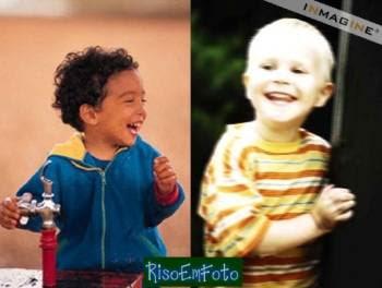 Crianças rindo, o objetivo das piadas infantís