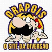 Logotipo do Orapois, que, além do próprio nome, é uma alusão aos portugueses.