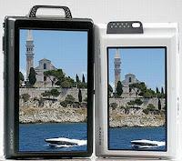 Novas câmeras digitais Sony Cyber-Shot DSC-T200 e DSC-T70 tem tela sensível ao toque (touchscreen)