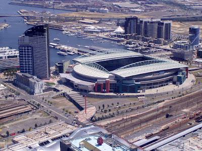 Rialto Telstra Dome, Melbourne, Austrália.
