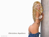 Christina Aguilera em wallpaper sensual