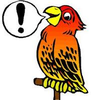 Símbolo do Piadas de papagaios ou piada de papagaio