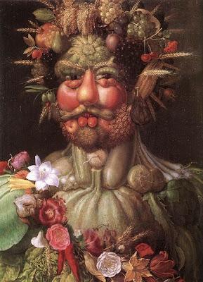 O retrato - pintura Vertemnus de Giuseppe Arcimboldo