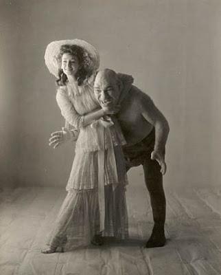 Maurice Tillet com a esposa